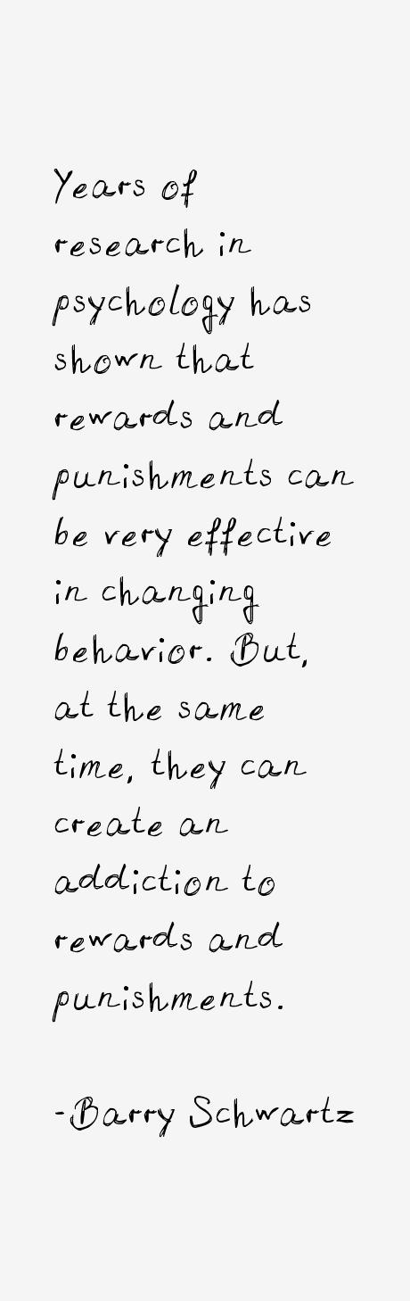 Barry Schwartz Quotes