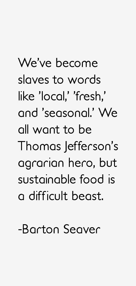 Barton Seaver Quotes