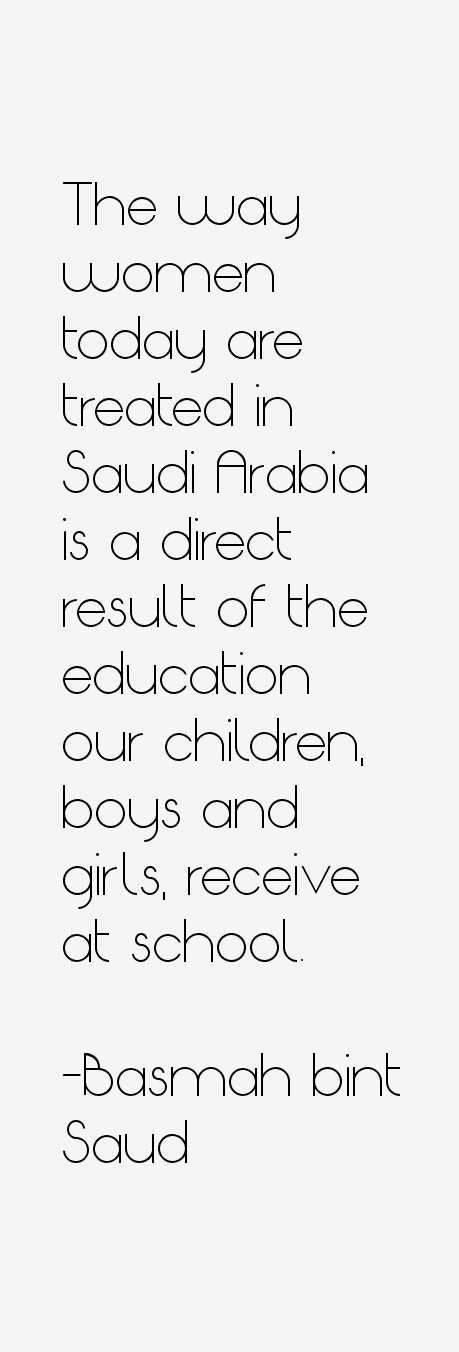 Basmah bint Saud Quotes