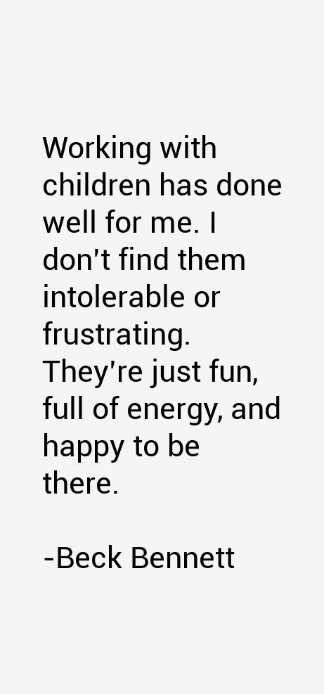 Beck Bennett Quotes