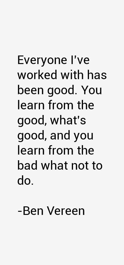 Ben Vereen Quotes