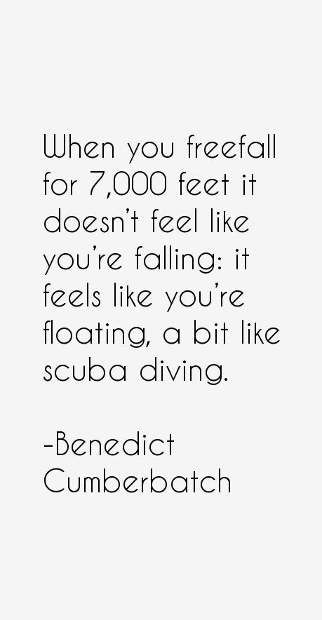 Benedict Cumberbatch Quotes
