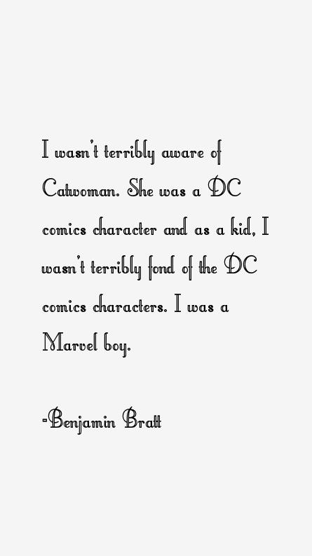 Benjamin Bratt Quotes