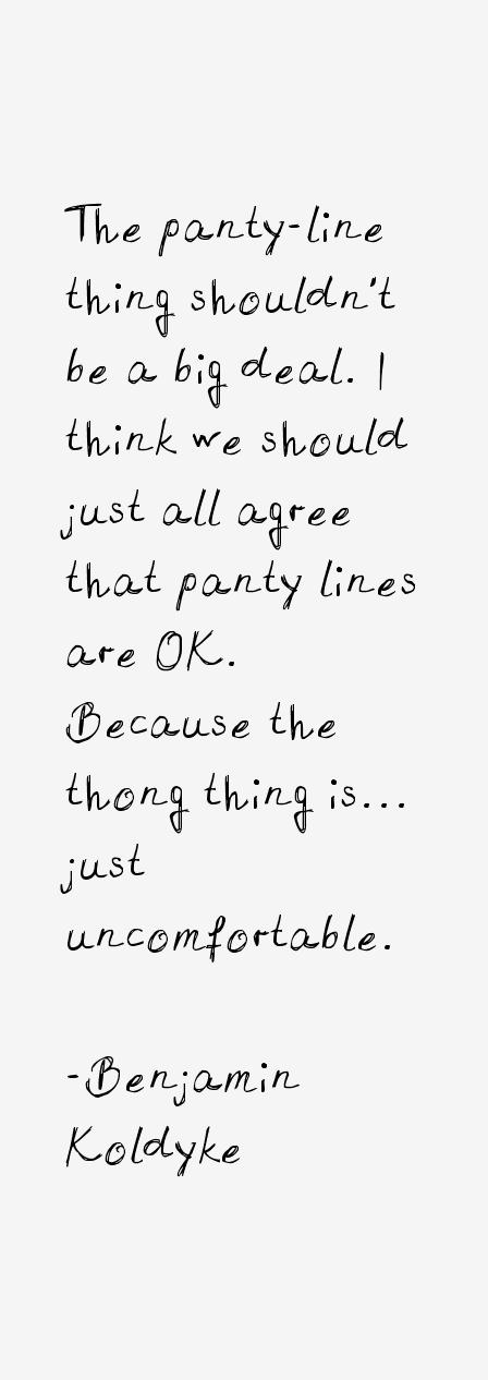 Benjamin Koldyke Quotes