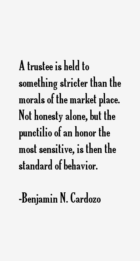 Benjamin N. Cardozo Quotes