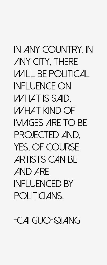 Cai Guo-Qiang Quotes