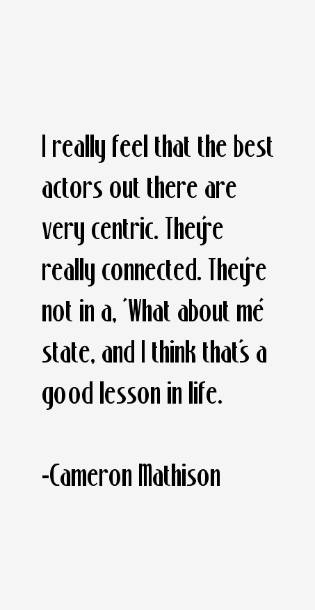 Cameron Mathison Quotes