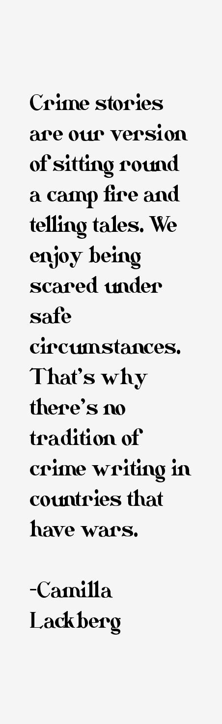 Camilla Lackberg Quotes
