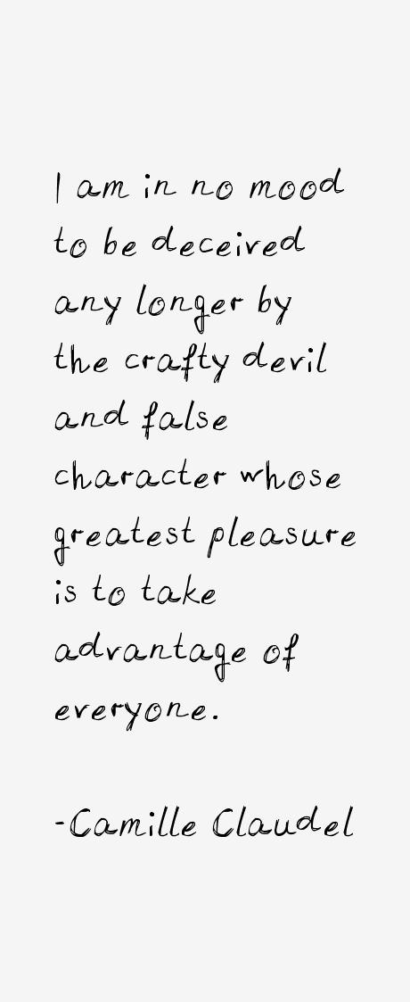 Camille Claudel Quotes