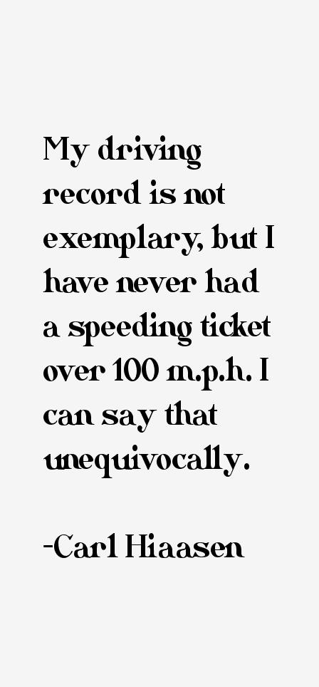 Carl Hiaasen Quotes