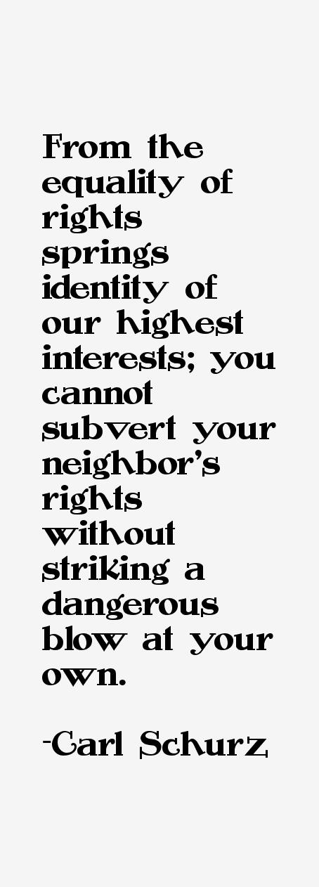 Carl Schurz Quotes