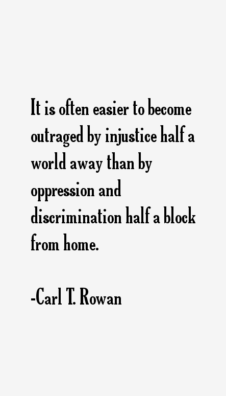 Carl T. Rowan Quotes