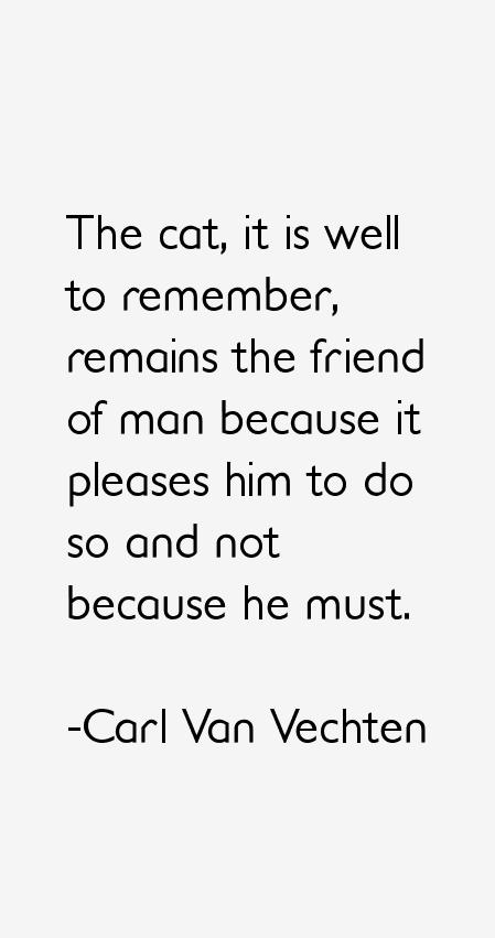 Carl Van Vechten Quotes