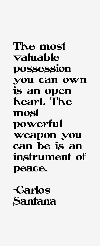 Carlos Santana Quotes
