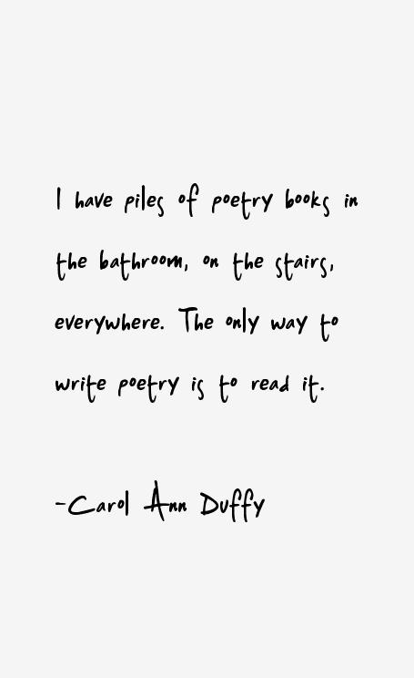Carol Ann Duffy Quotes