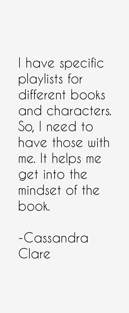 Cassandra Clare Quotes