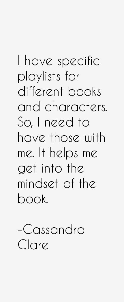 Cassandra Clare Quotes