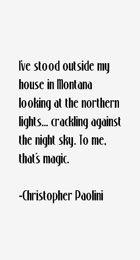 How to write like christopher paolini
