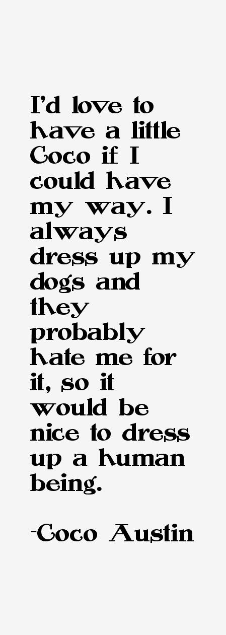 Coco Austin Quotes