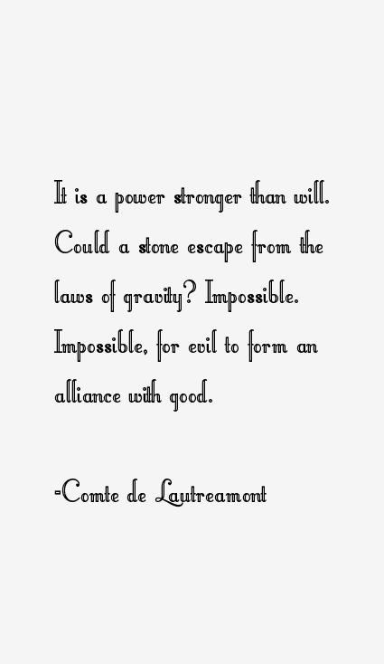 Comte de Lautreamont Quotes