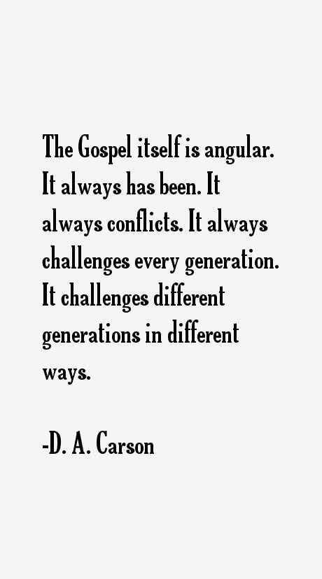 D. A. Carson Quotes