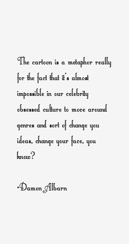 Damon Albarn Quotes