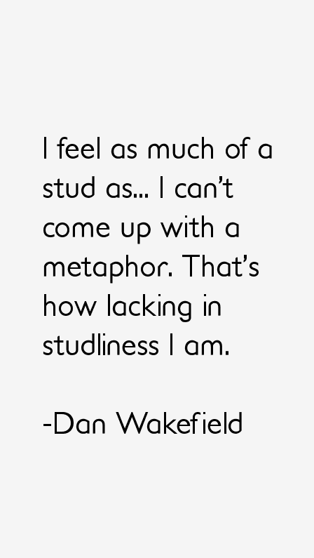 Dan Wakefield Quotes
