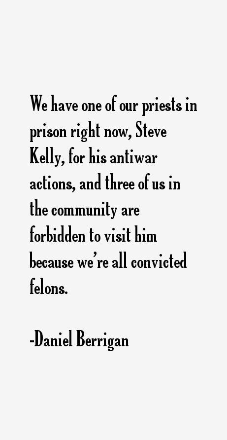 Daniel Berrigan Quotes