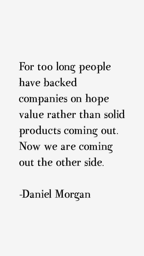 Daniel Morgan Quotes