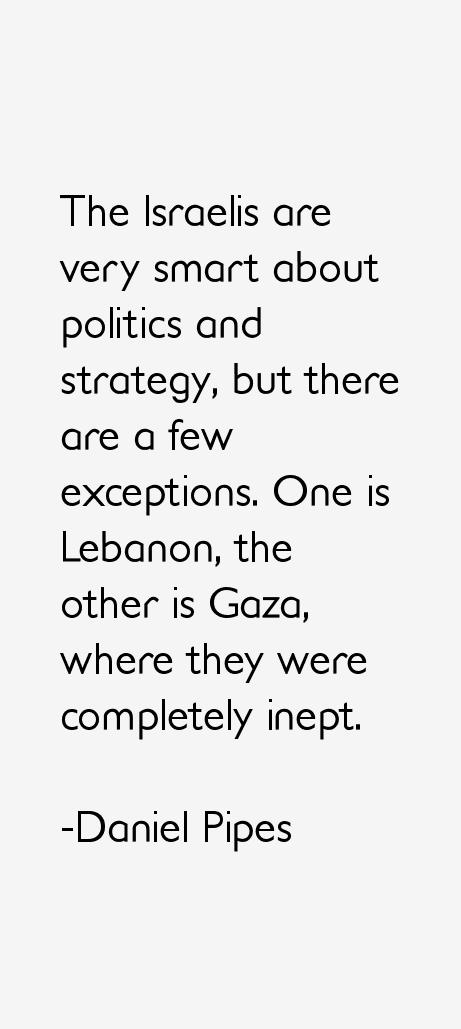 Daniel Pipes Quotes