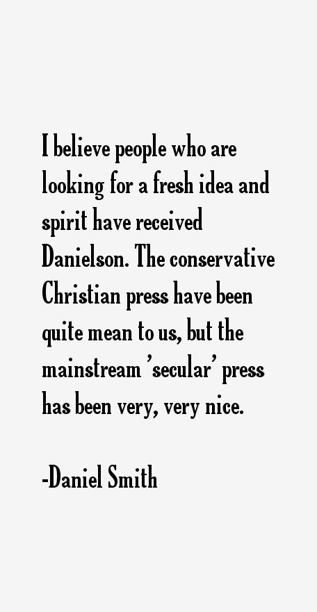 Daniel Smith Quotes