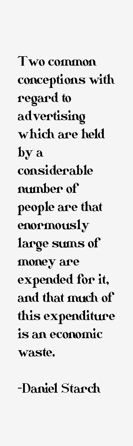 Daniel Starch Quotes