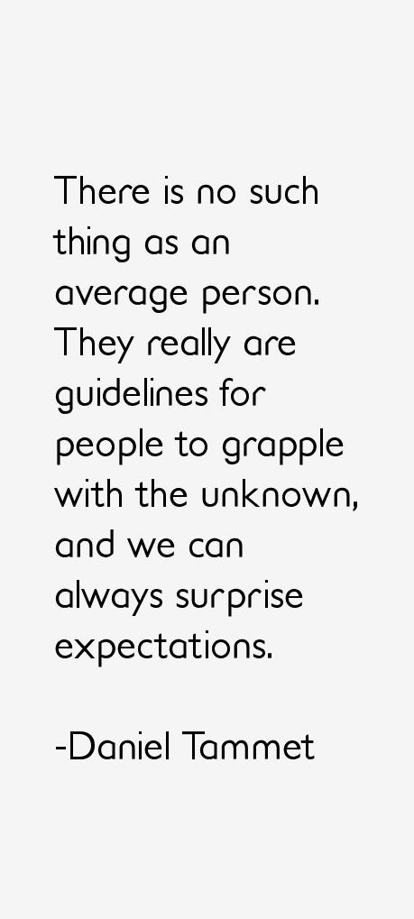Daniel Tammet Quotes