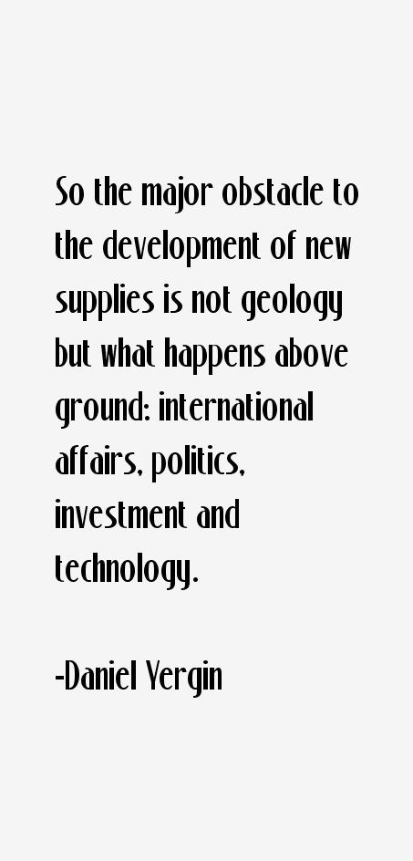 Daniel Yergin Quotes