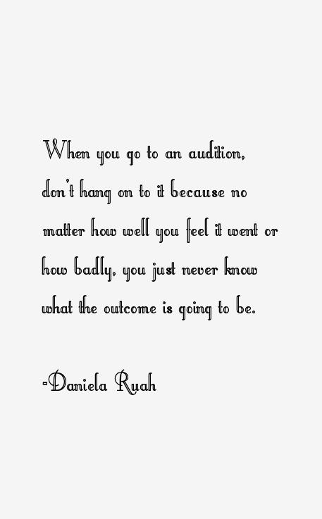 Daniela Ruah Quotes