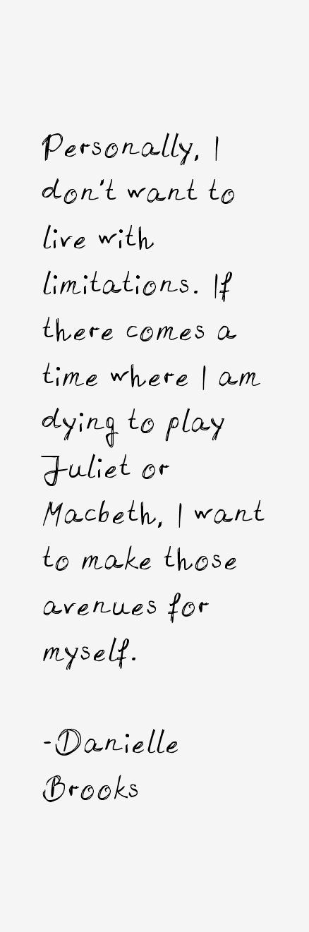 Danielle Brooks Quotes