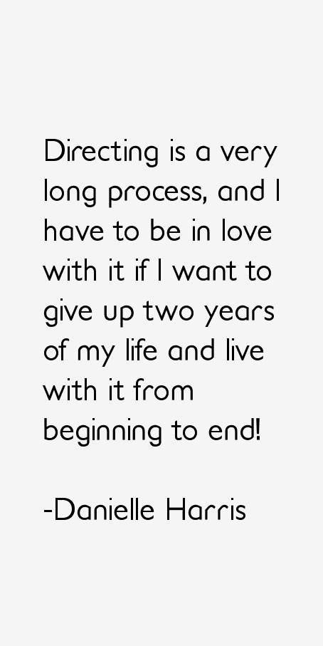 Danielle Harris Quotes