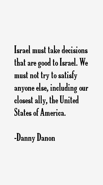 Danny Danon Quotes