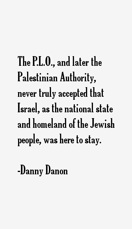 Danny Danon Quotes