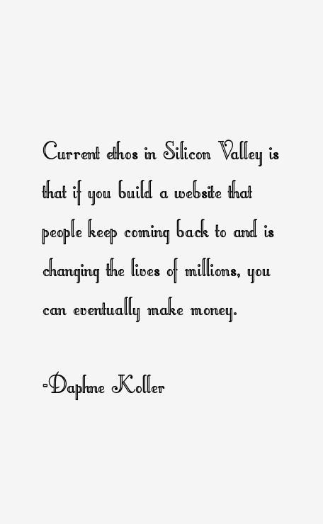 Daphne Koller Quotes