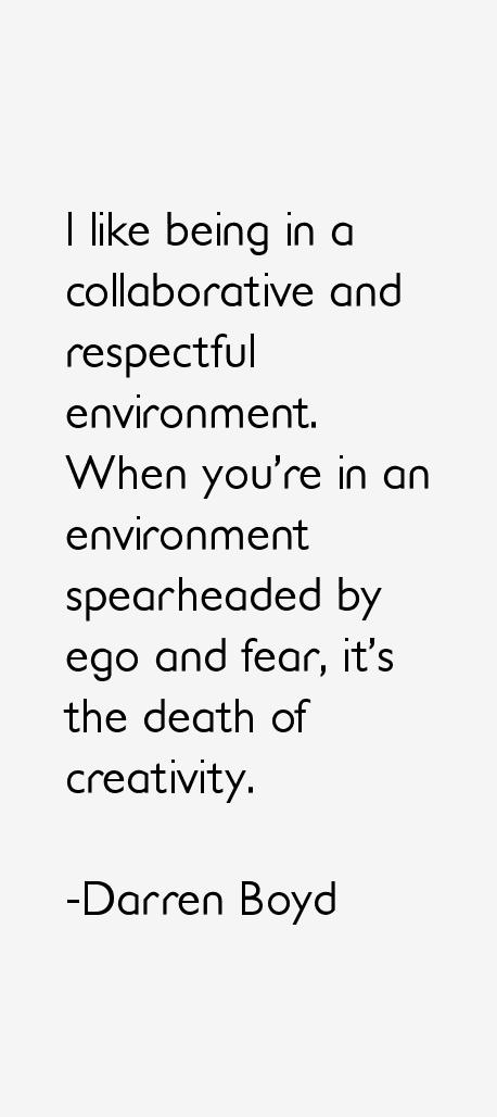 Darren Boyd Quotes