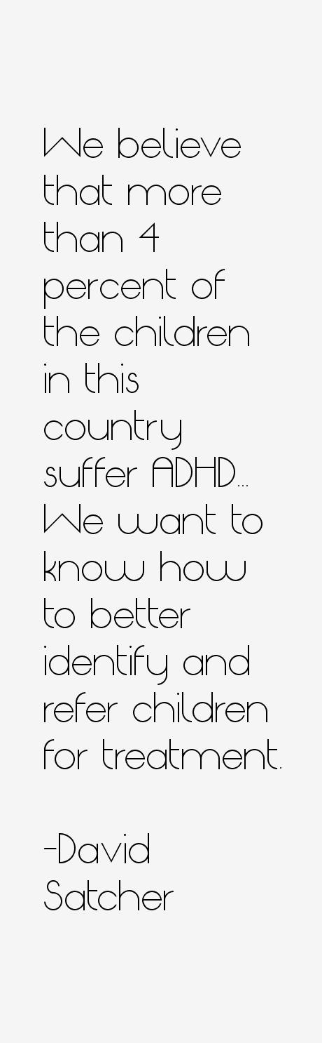 David Satcher Quotes