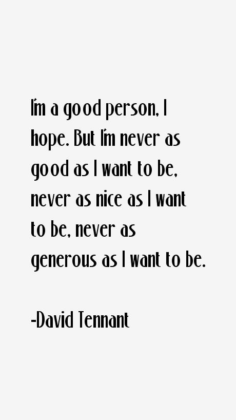 David Tennant Quotes