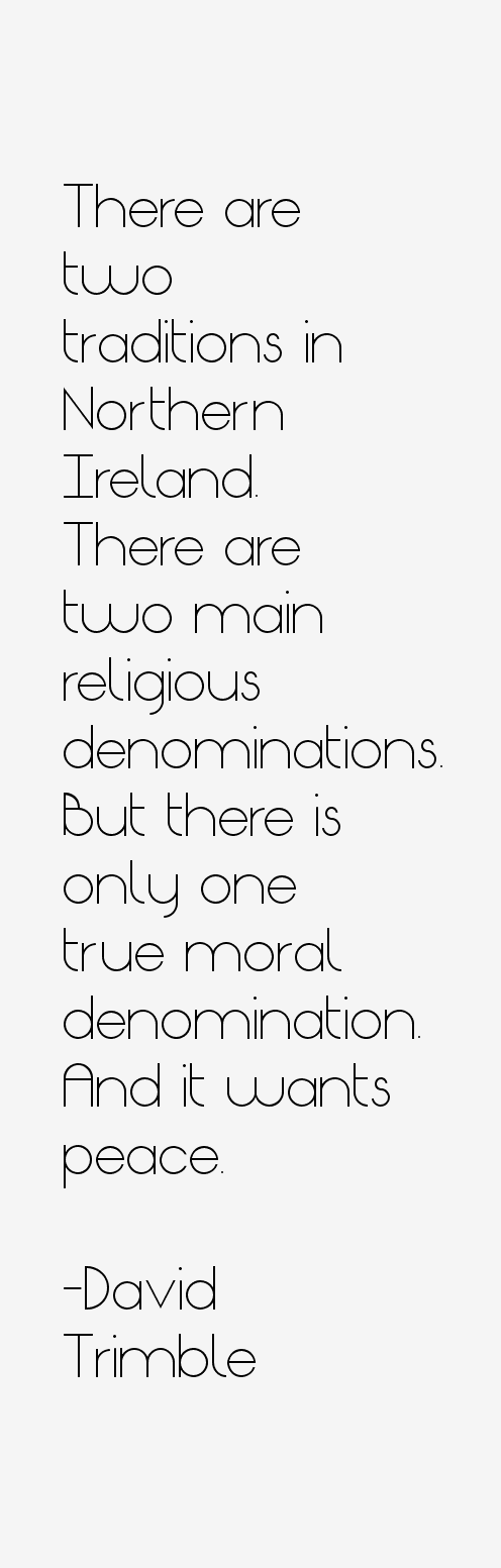 David Trimble Quotes