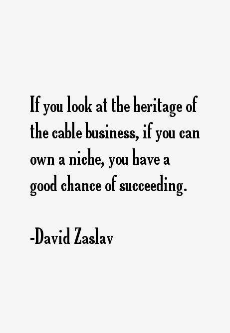 David Zaslav Quotes