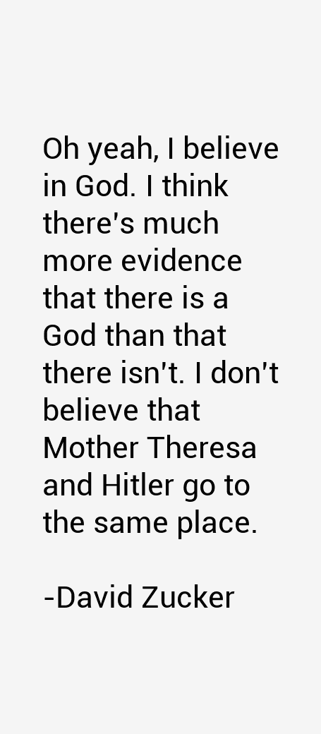 David Zucker Quotes