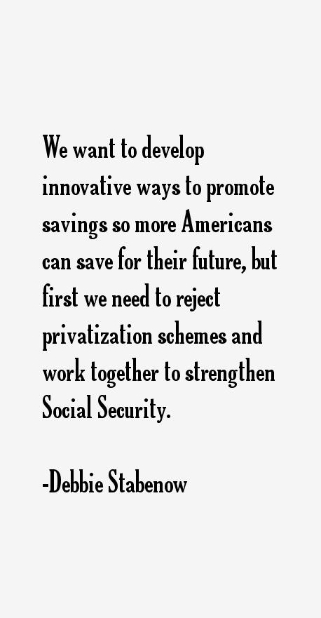 Debbie Stabenow Quotes