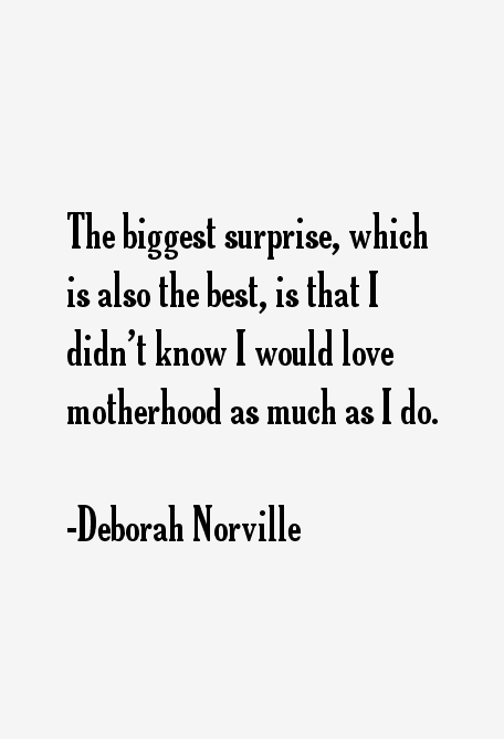 Deborah Norville Quotes