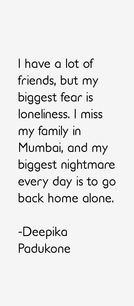 Deepika Padukone Quotes Sayings