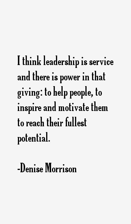 Denise Morrison Quotes